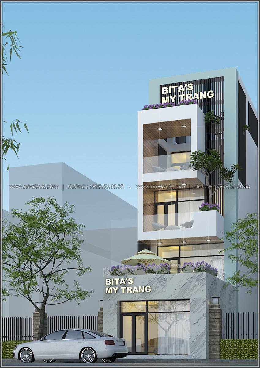 Thiết kế nhà phố mặt tiền 5m kết hợp kinh doanh tiện lợi tại Tân Bình - 02