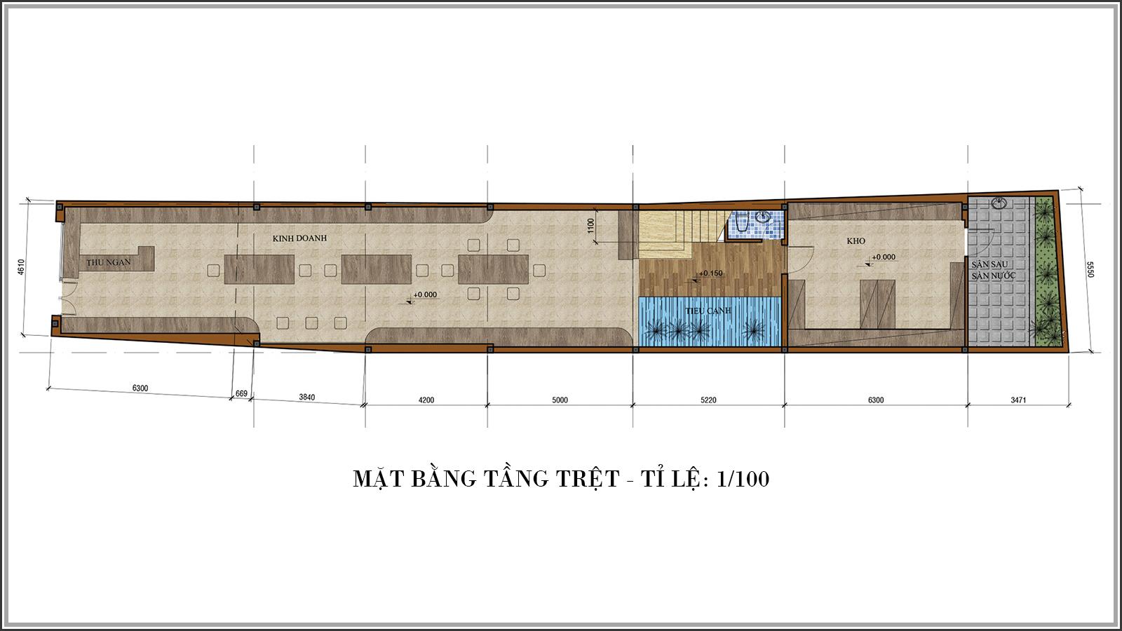Thiết kế nhà phố mặt tiền 5m kết hợp kinh doanh tiện lợi tại Tân Bình - 03