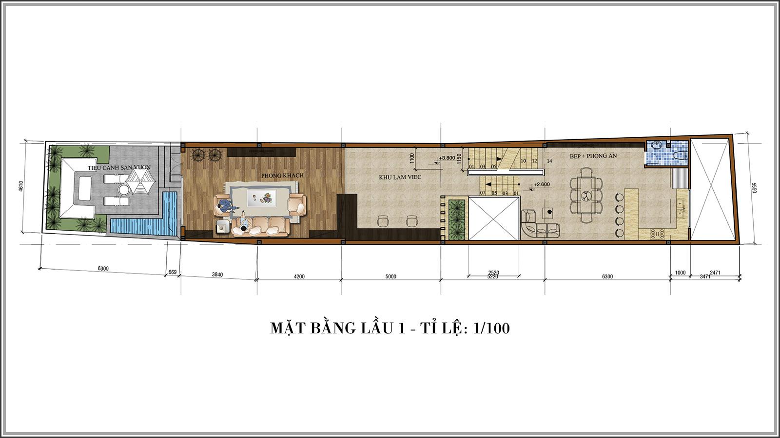 Thiết kế nhà phố mặt tiền 5m kết hợp kinh doanh tiện lợi tại Tân Bình - 04