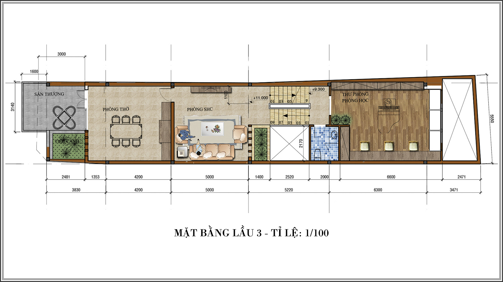 Thiết kế nhà phố mặt tiền 5m kết hợp kinh doanh tiện lợi tại Tân Bình - 06