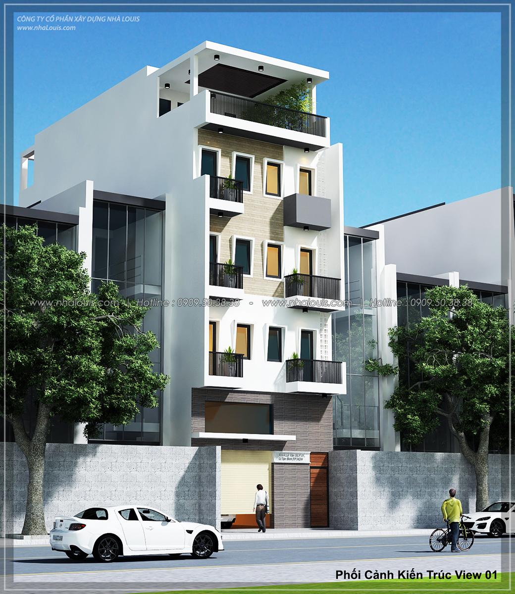 Thiết kế nhà trọ cho thuê ở Tân Bình giúp gia chủ tiết kiệm chi phí - 01