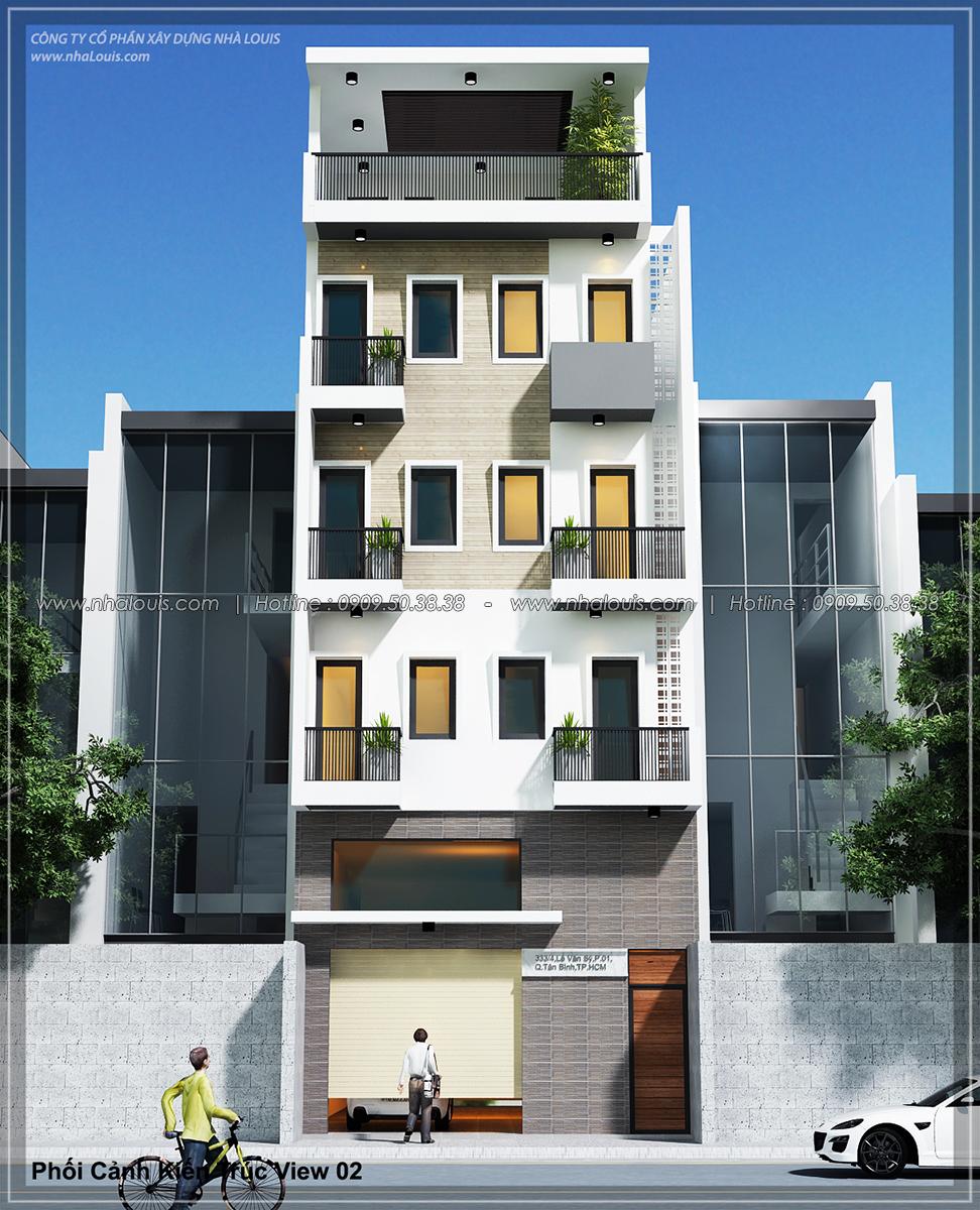 Thiết kế nhà trọ cho thuê ở Tân Bình giúp gia chủ tiết kiệm chi phí - 02