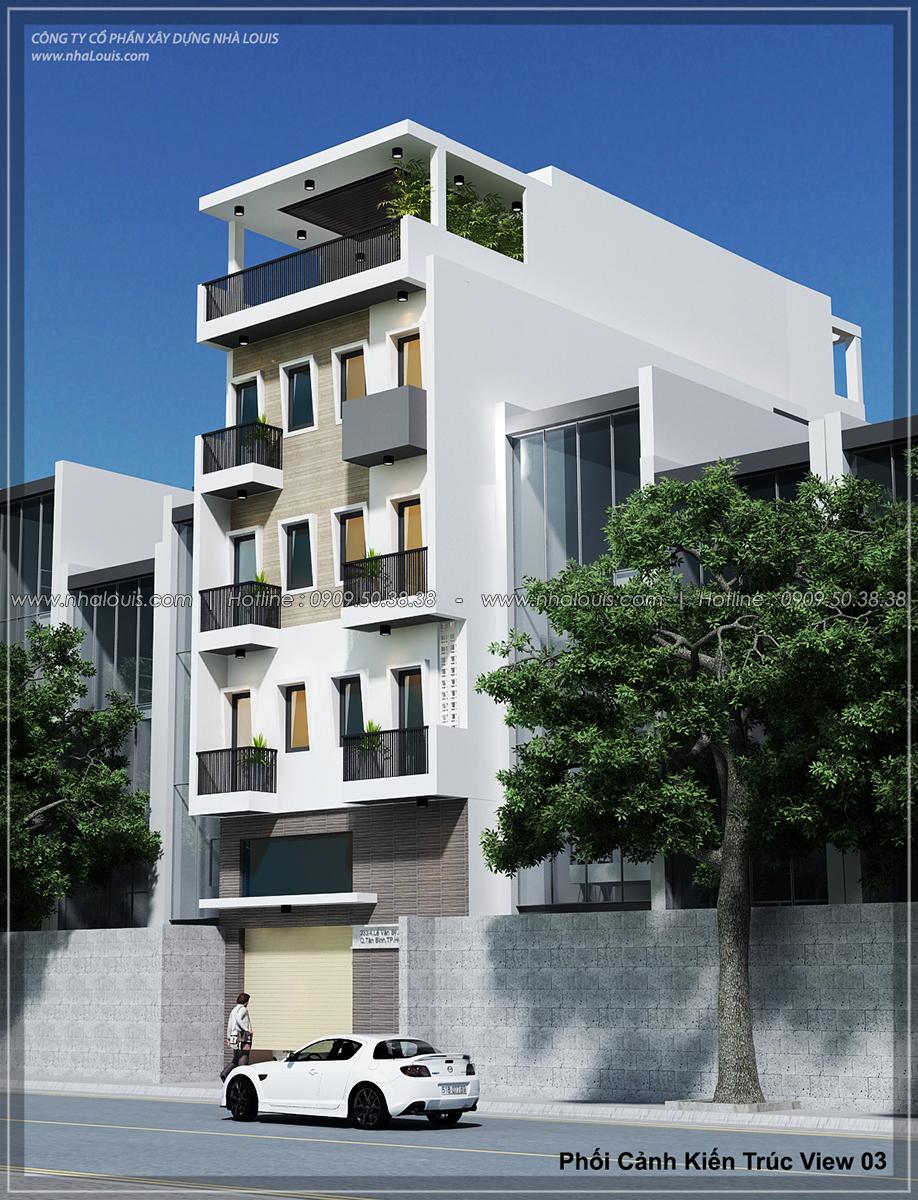 Thiết kế nhà trọ cho thuê ở Tân Bình giúp gia chủ tiết kiệm chi phí - 03