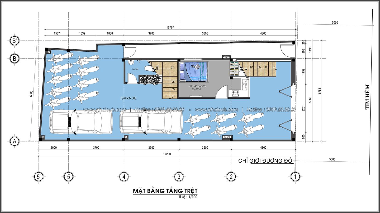 Thiết kế nhà trọ cho thuê ở Tân Bình giúp gia chủ tiết kiệm chi phí - 04
