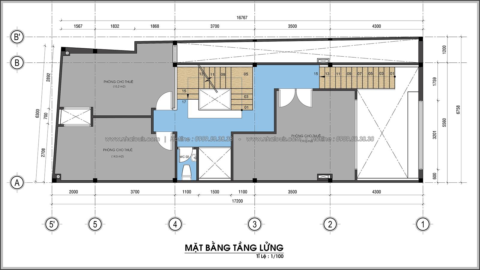 Thiết kế nhà trọ cho thuê ở Tân Bình giúp gia chủ tiết kiệm chi phí - 05