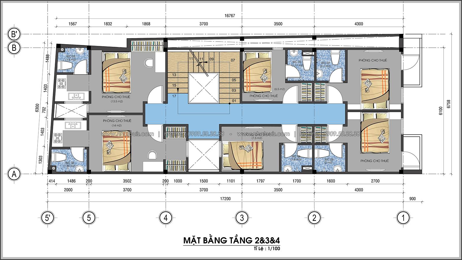 Thiết kế nhà trọ cho thuê ở Tân Bình giúp gia chủ tiết kiệm chi phí - 06