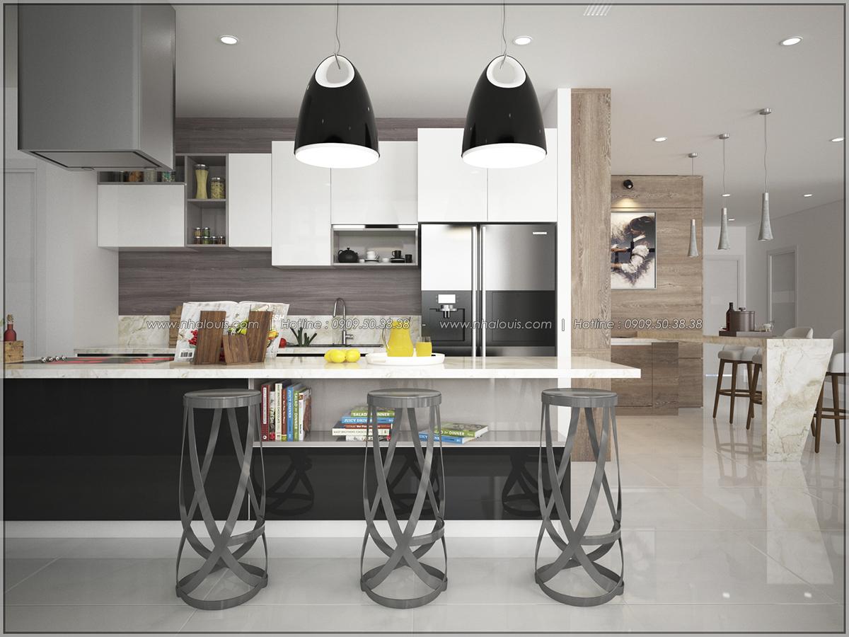 Thiết kế nội thất căn hộ penthouse tại Sunrise City hoành tráng lệ - 03