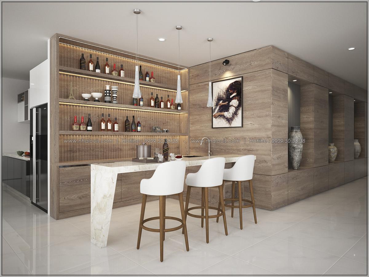 Thiết kế nội thất căn hộ penthouse tại Sunrise City hoành tráng lệ - 04