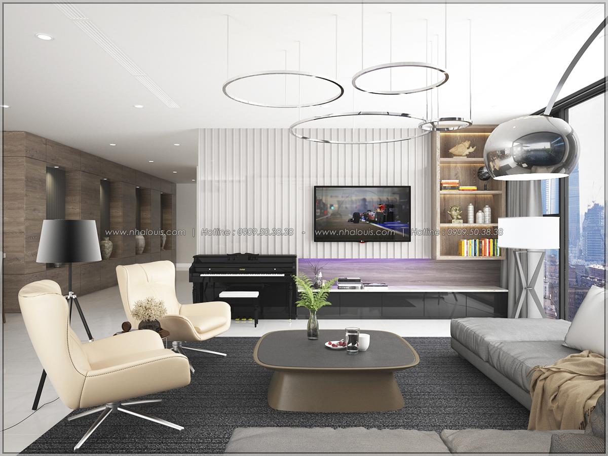 Thiết kế nội thất căn hộ penthouse tại Sunrise City hoành tráng lệ - 05