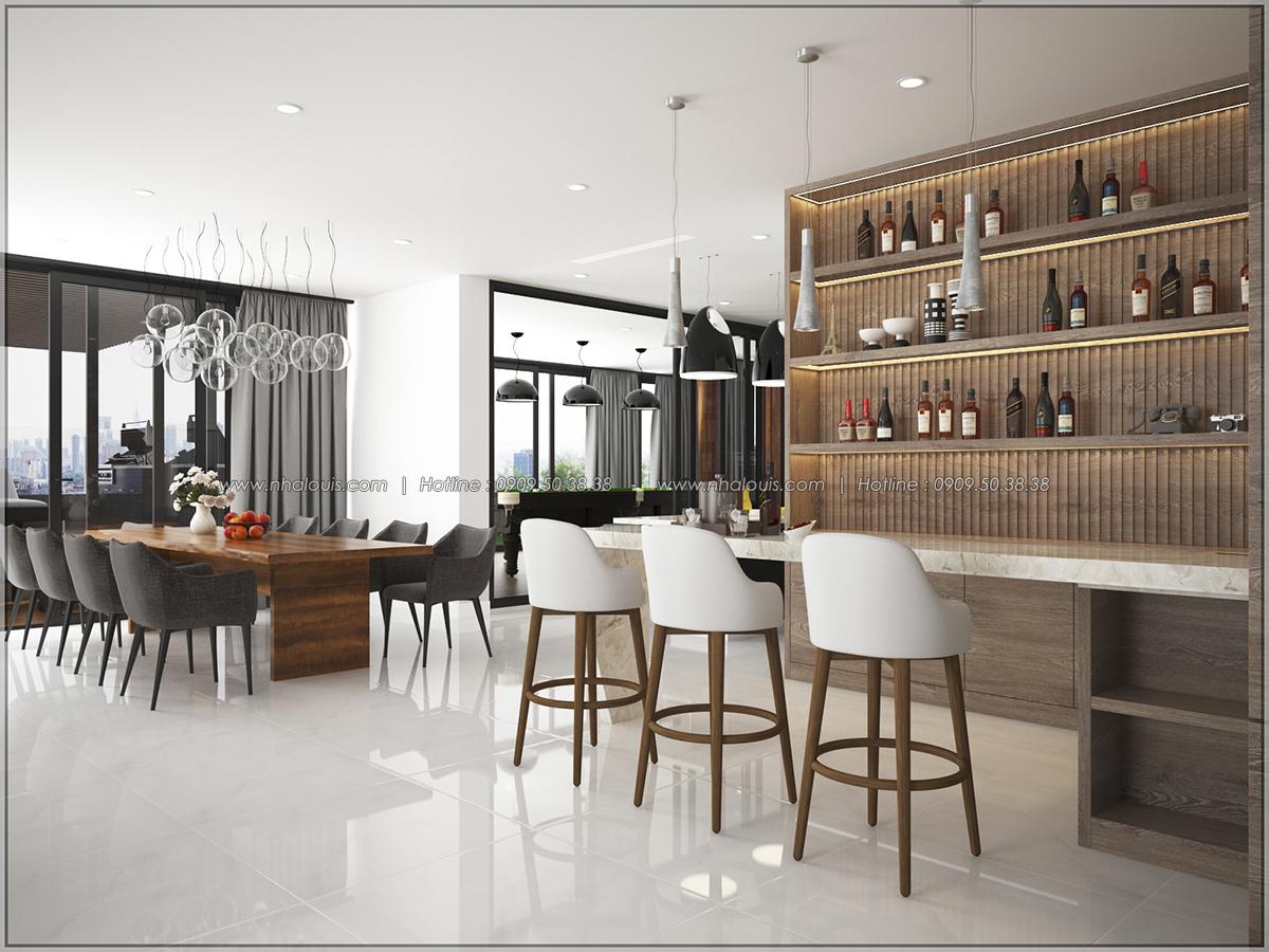 Thiết kế nội thất căn hộ penthouse tại Sunrise City hoành tráng lệ - 06