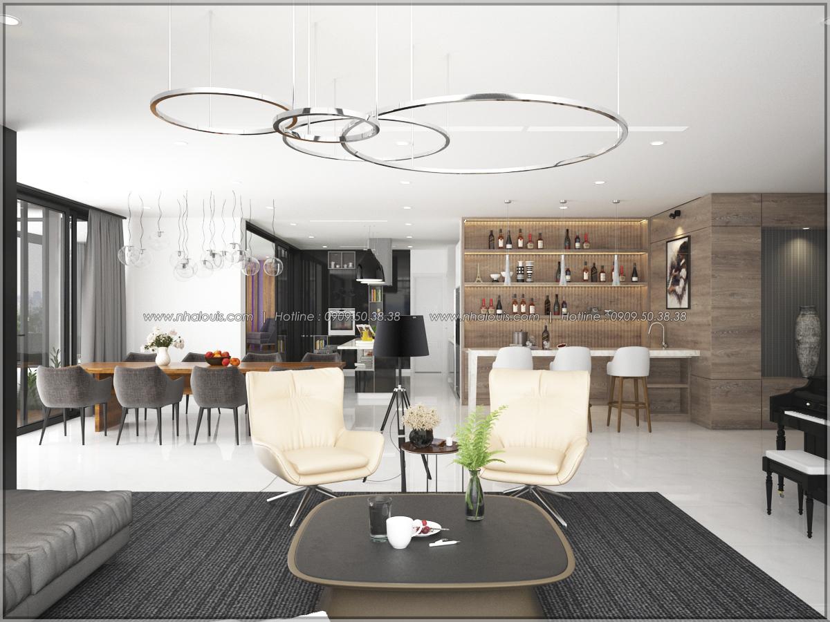 Thiết kế nội thất căn hộ penthouse tại Sunrise City hoành tráng lệ - 08