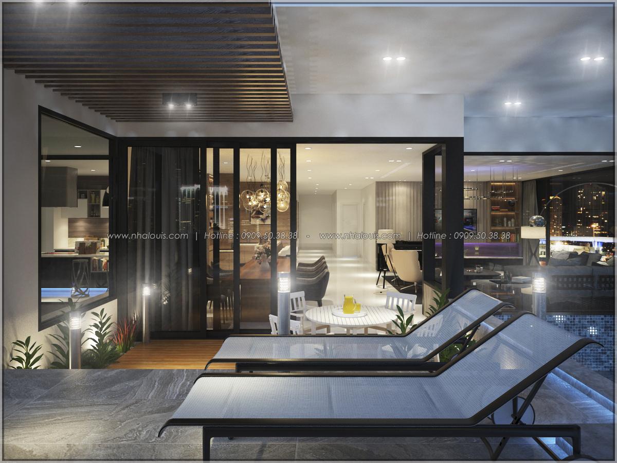 Thiết kế nội thất căn hộ penthouse tại Sunrise City hoành tráng lệ - 17