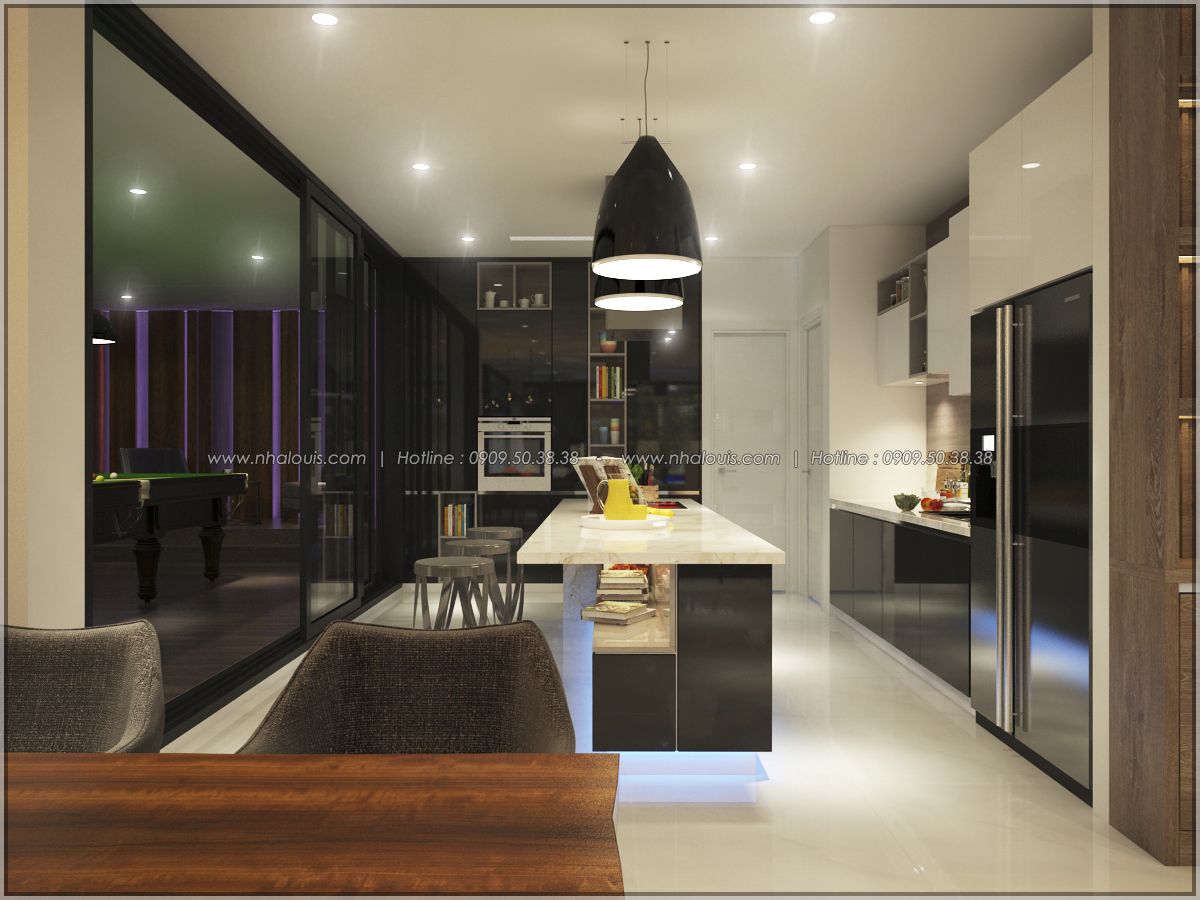 Thiết kế nội thất căn hộ penthouse tại Sunrise City hoành tráng lệ - 19