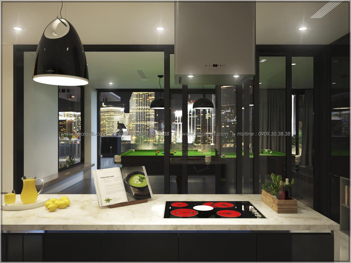 Thiết kế nội thất căn hộ penthouse tại Sunrise City hoành tráng lệ - 20