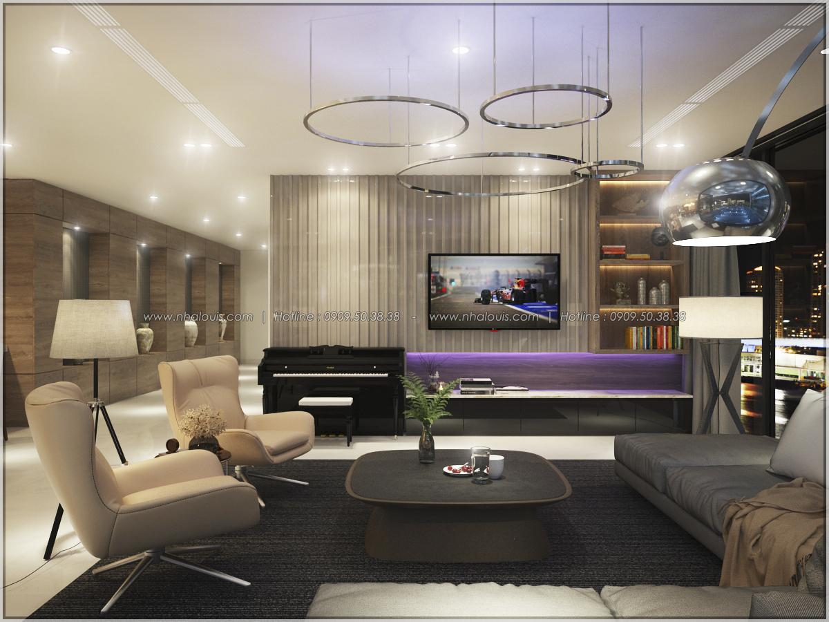 Thiết kế nội thất căn hộ penthouse tại Sunrise City hoành tráng lệ - 22