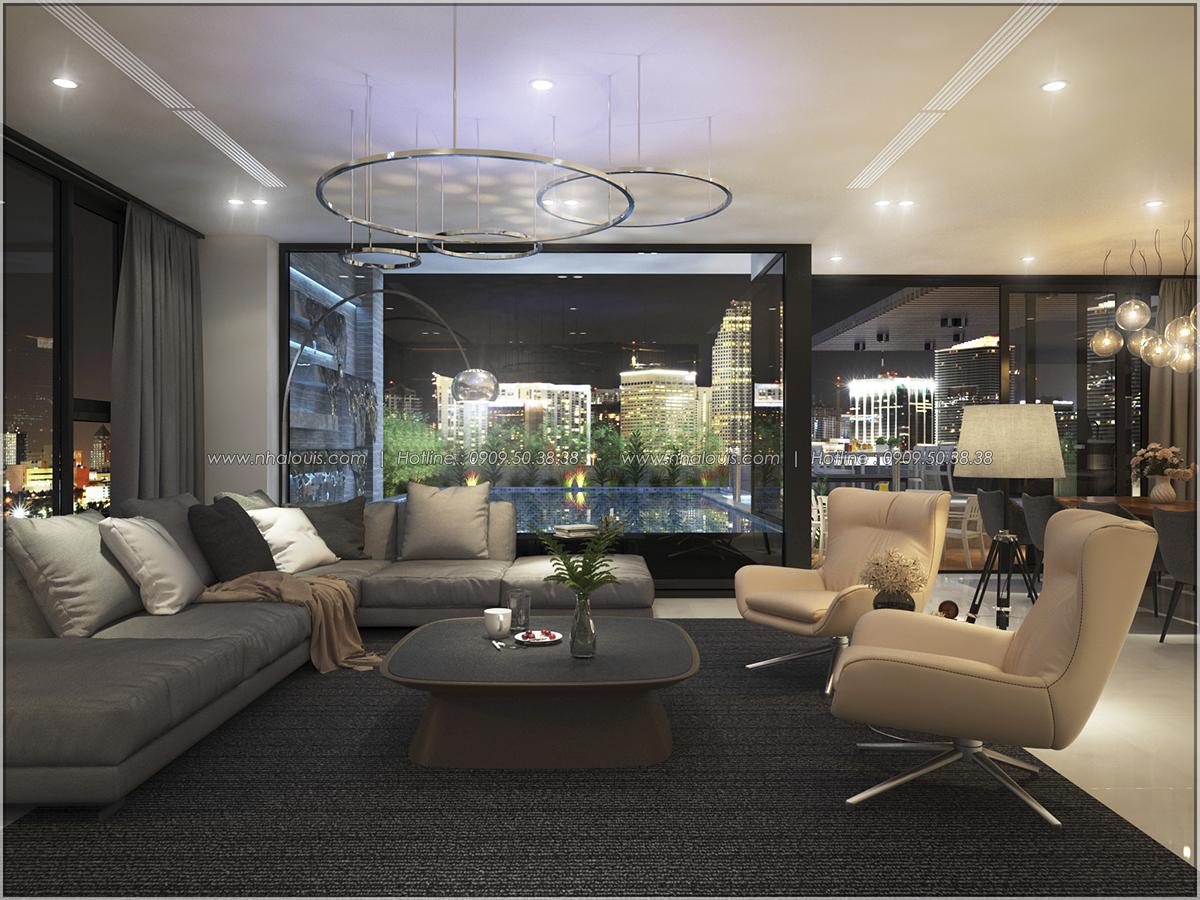 Thiết kế nội thất căn hộ penthouse tại Sunrise City hoành tráng lệ - 23