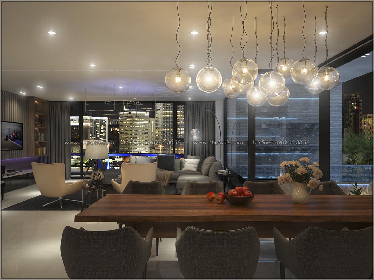 Thiết kế nội thất căn hộ penthouse tại Sunrise City hoành tráng lệ - 24