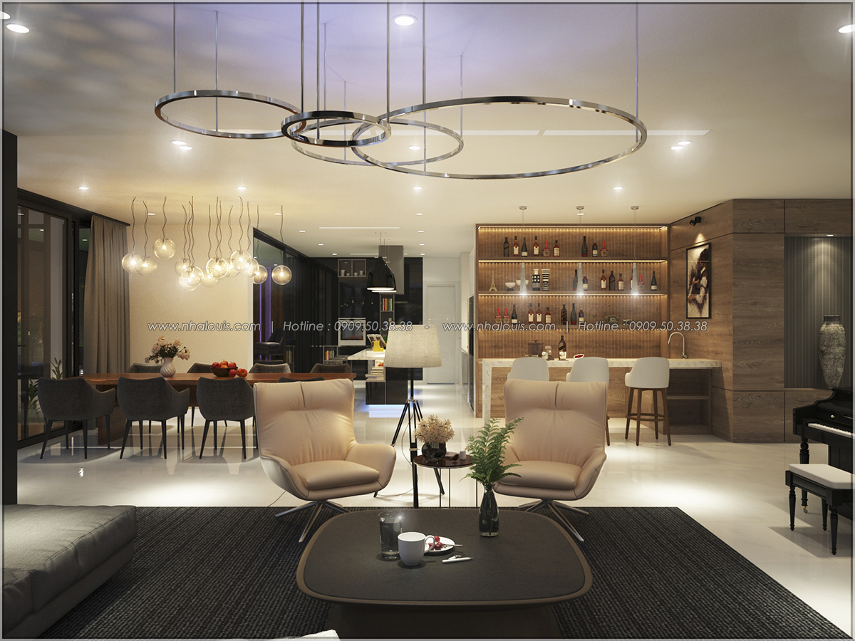 Thiết kế nội thất căn hộ penthouse tại Sunrise City hoành tráng lệ - 26