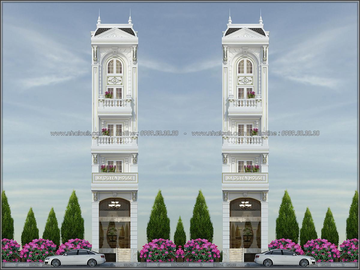 Vẻ đẹp của nhà phố tân cổ điển ở Tân Bình mặt tiền 4m đầy mê hoặc - 01