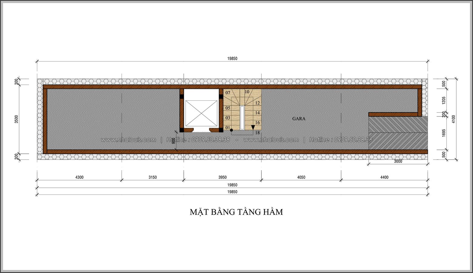 Vẻ đẹp của nhà phố tân cổ điển ở Tân Bình mặt tiền 4m đầy mê hoặc - 02
