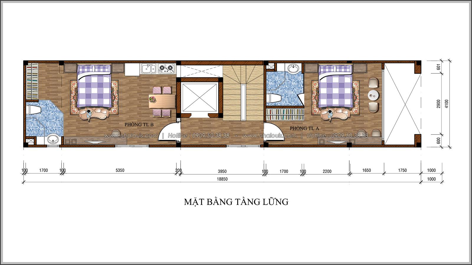 Vẻ đẹp của nhà phố tân cổ điển ở Tân Bình mặt tiền 4m đầy mê hoặc - 04