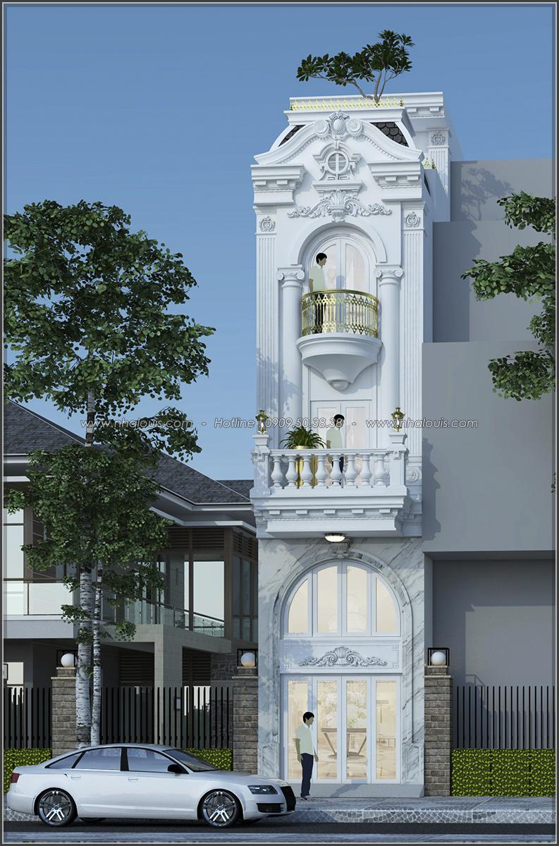 Lạc trôi với thiết kế nhà ống 3 tầng cổ điển cực chất tại Quận 3 - 01