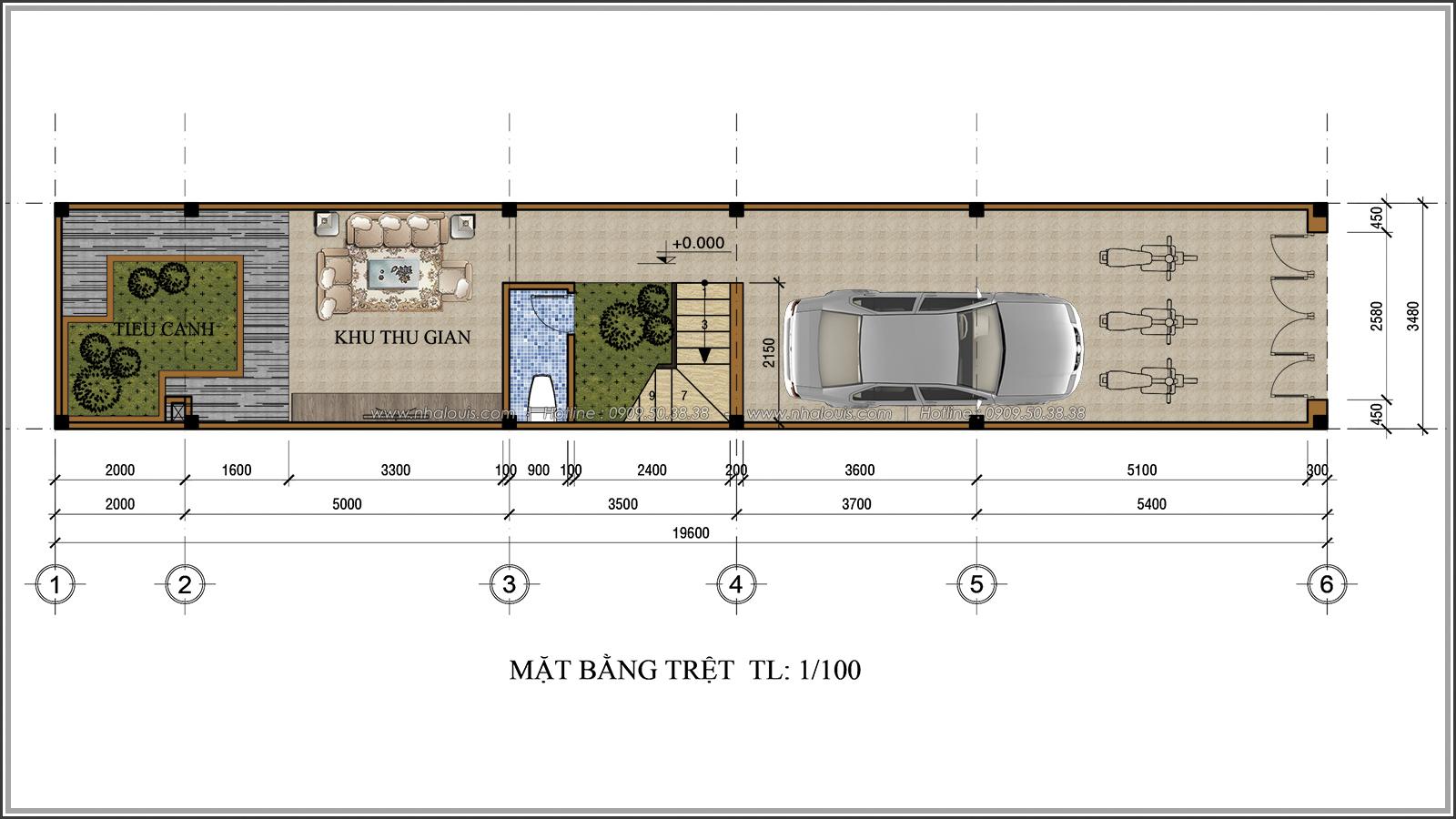 Lạc trôi với thiết kế nhà ống 3 tầng cổ điển cực chất tại Quận 3 - 03