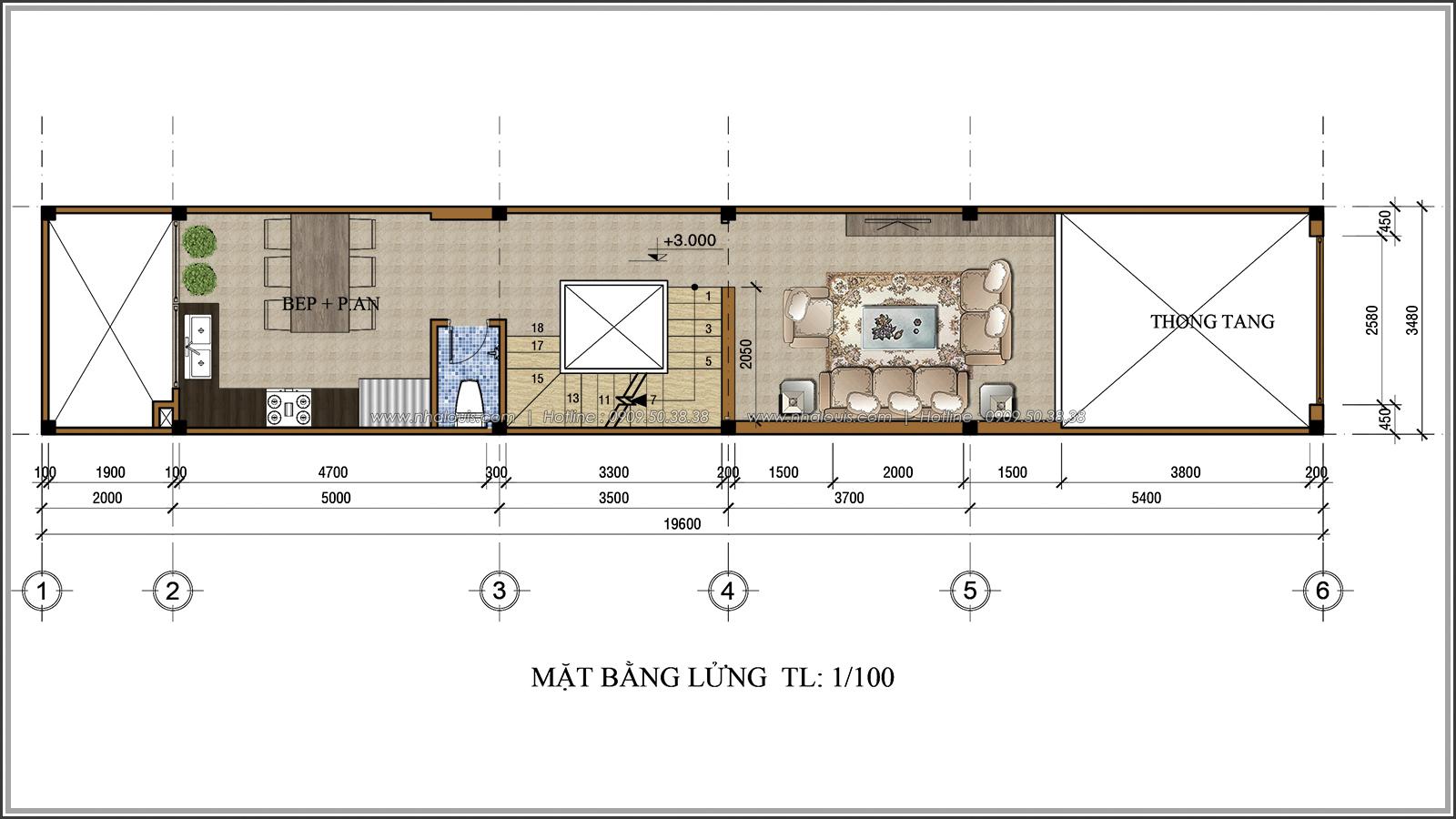 Lạc trôi với thiết kế nhà ống 3 tầng cổ điển cực chất tại Quận 3 - 04