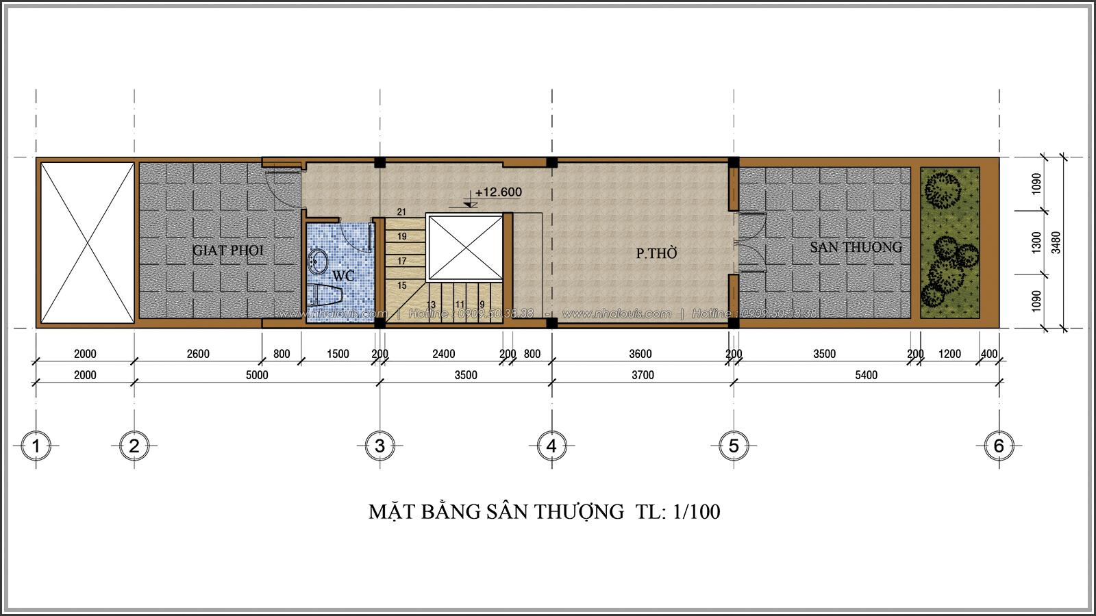 Lạc trôi với thiết kế nhà ống 3 tầng cổ điển cực chất tại Quận 3 - 07