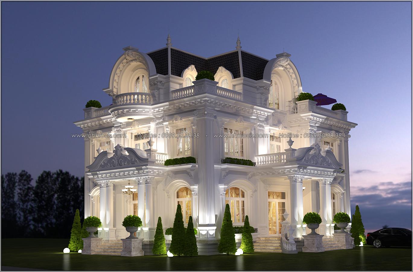 Biệt thự 3 tầng kiểu Pháp hoành tráng tại Biên Hòa đầy mê hoặc - 02