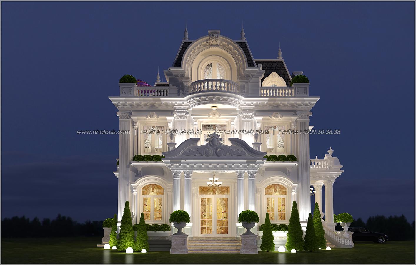 Biệt thự 3 tầng kiểu Pháp hoành tráng tại Biên Hòa đầy mê hoặc - 03