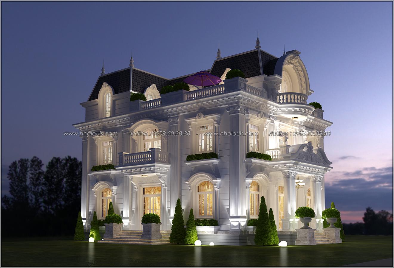 Biệt thự 3 tầng kiểu Pháp hoành tráng tại Biên Hòa đầy mê hoặc - 04