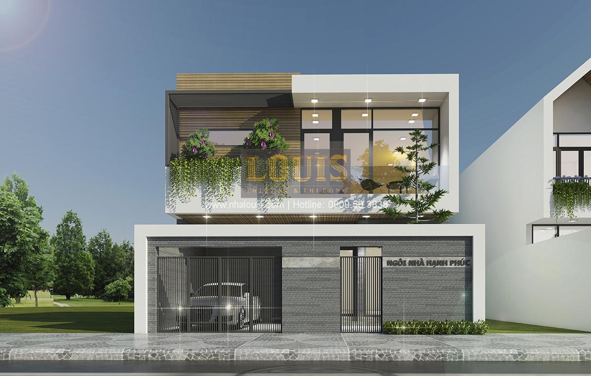 Biệt thự mini 2 tầng tại Bình Dương với thiết kế hiện đại - 01