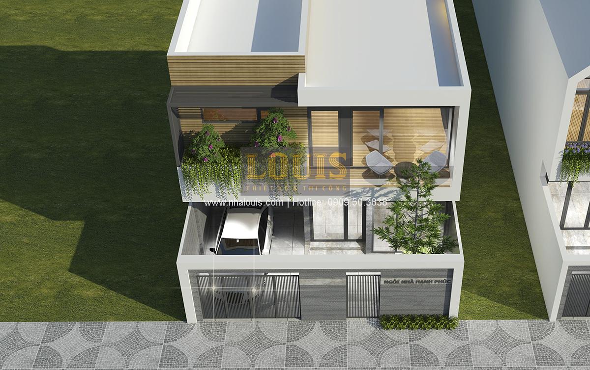 Biệt thự mini 2 tầng tại Bình Dương với thiết kế hiện đại - 03