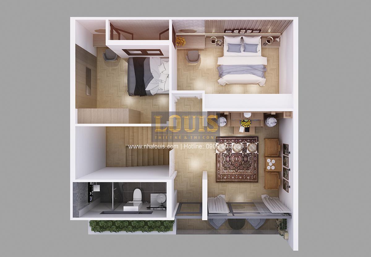 Biệt thự mini 2 tầng tại Bình Dương với thiết kế hiện đại - 04