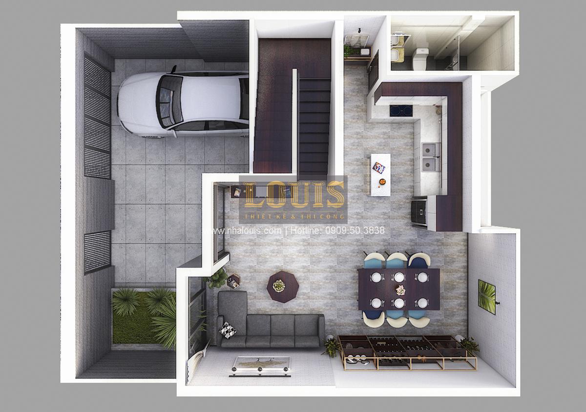 Biệt thự mini 2 tầng tại Bình Dương với thiết kế hiện đại - 05