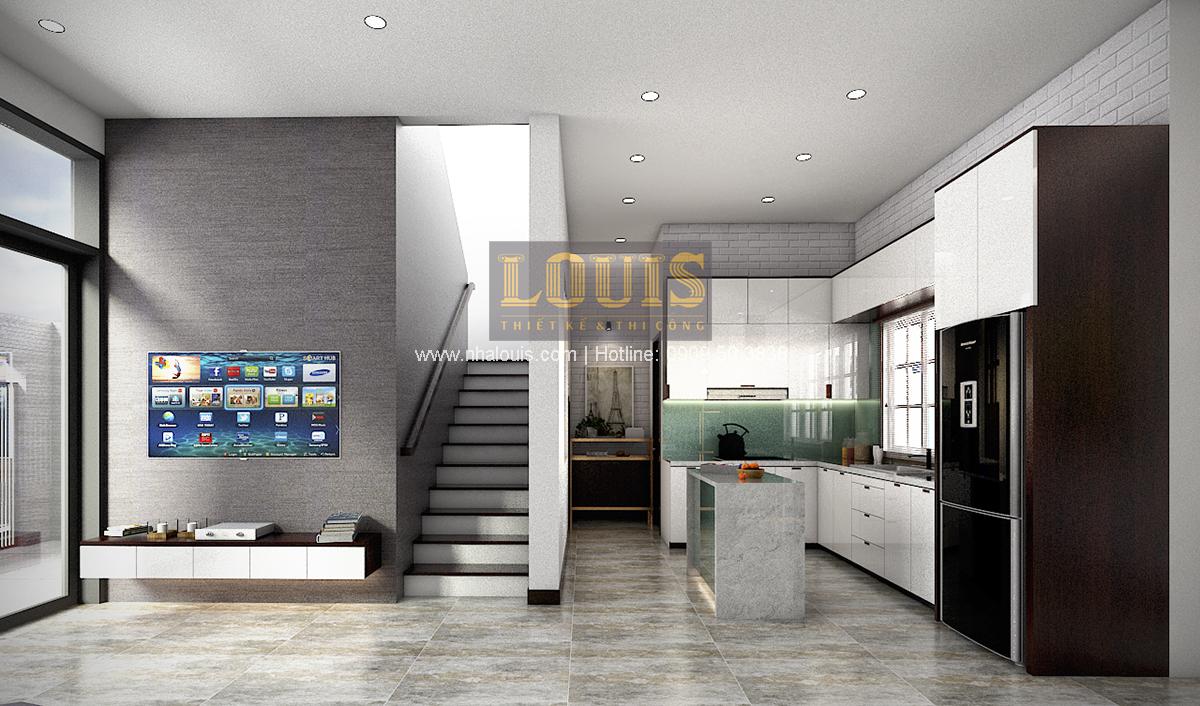 Biệt thự mini 2 tầng tại Bình Dương với thiết kế hiện đại - 07