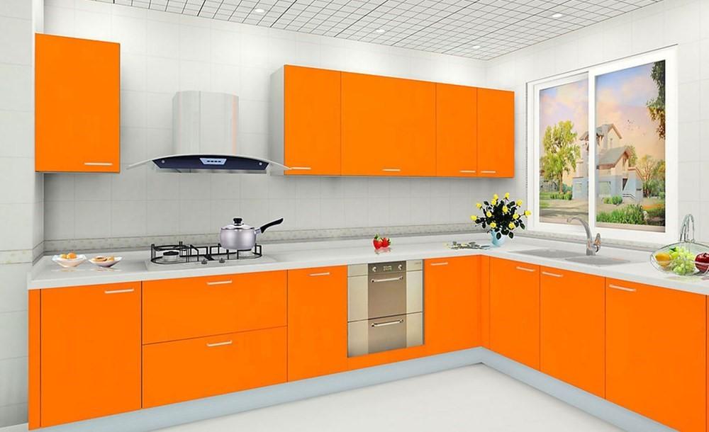 """""""Liều lĩnh"""" với sắc cam cho không gian ngôi nhà đẹp rực rỡ"""