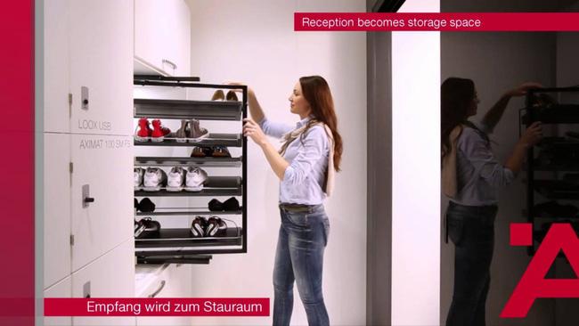 """""""Sốc"""" với tiện ích của tủ đồ đa năng thông minh"""
