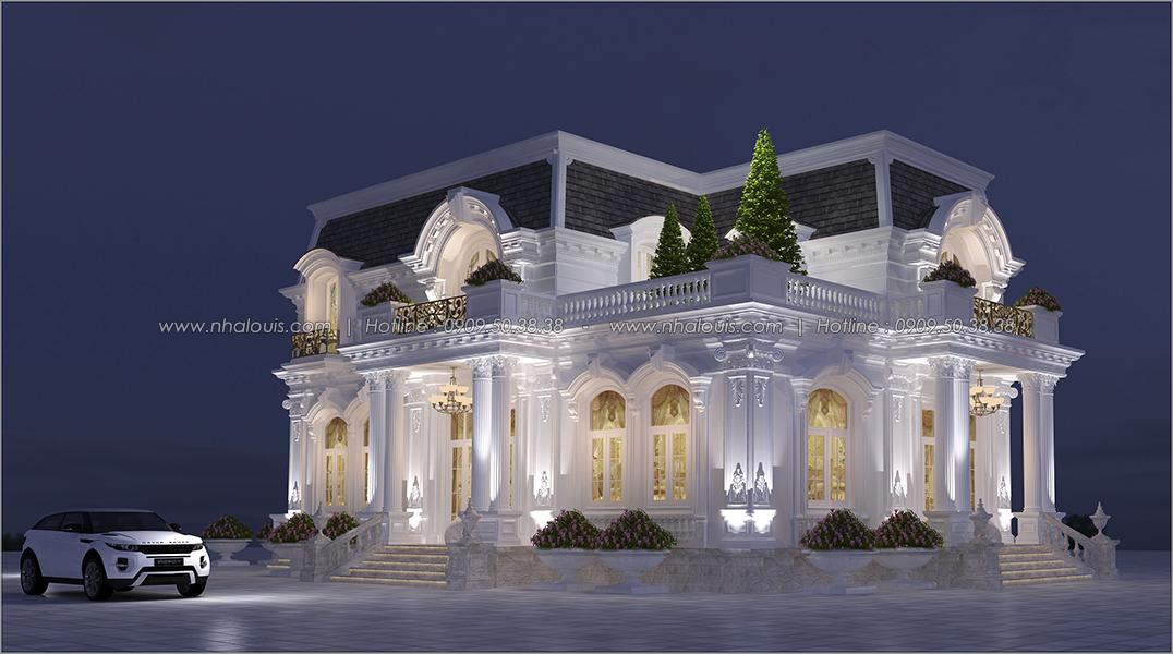 Thiết kế biệt thự 2 tầng kiểu Pháp tại Bình Dương lộng lẫy đến sững sờ - 03