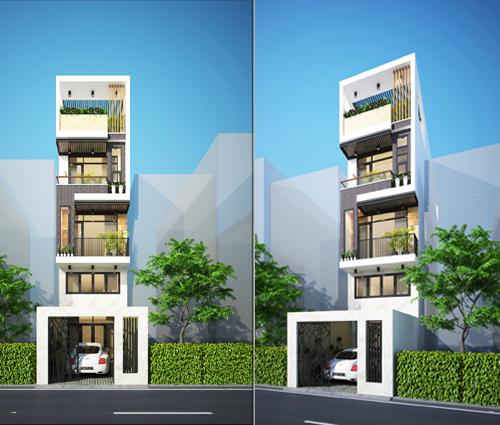 Thiết kế nhà đẹp 3 tầng tại Thủ Đức phong cách hiện đại tinh tế - 01