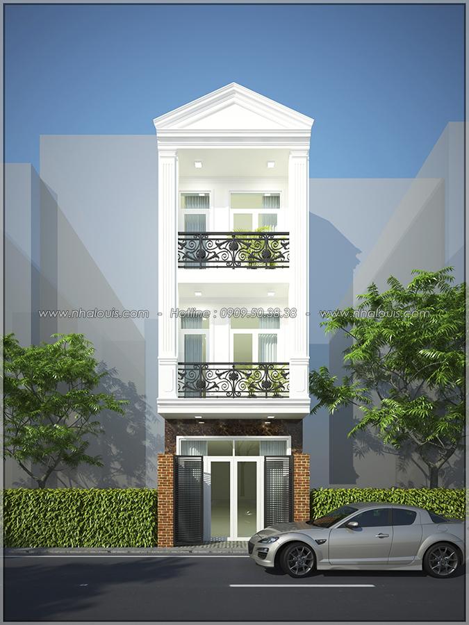 Thiết kế nhà phố 3 tầng tại Tân Bình đẹp hiện đại và đầy phong cách - 01