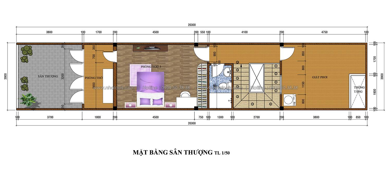 Thiết kế nhà phố 3 tầng tại Tân Bình đẹp hiện đại và đầy phong cách - 04