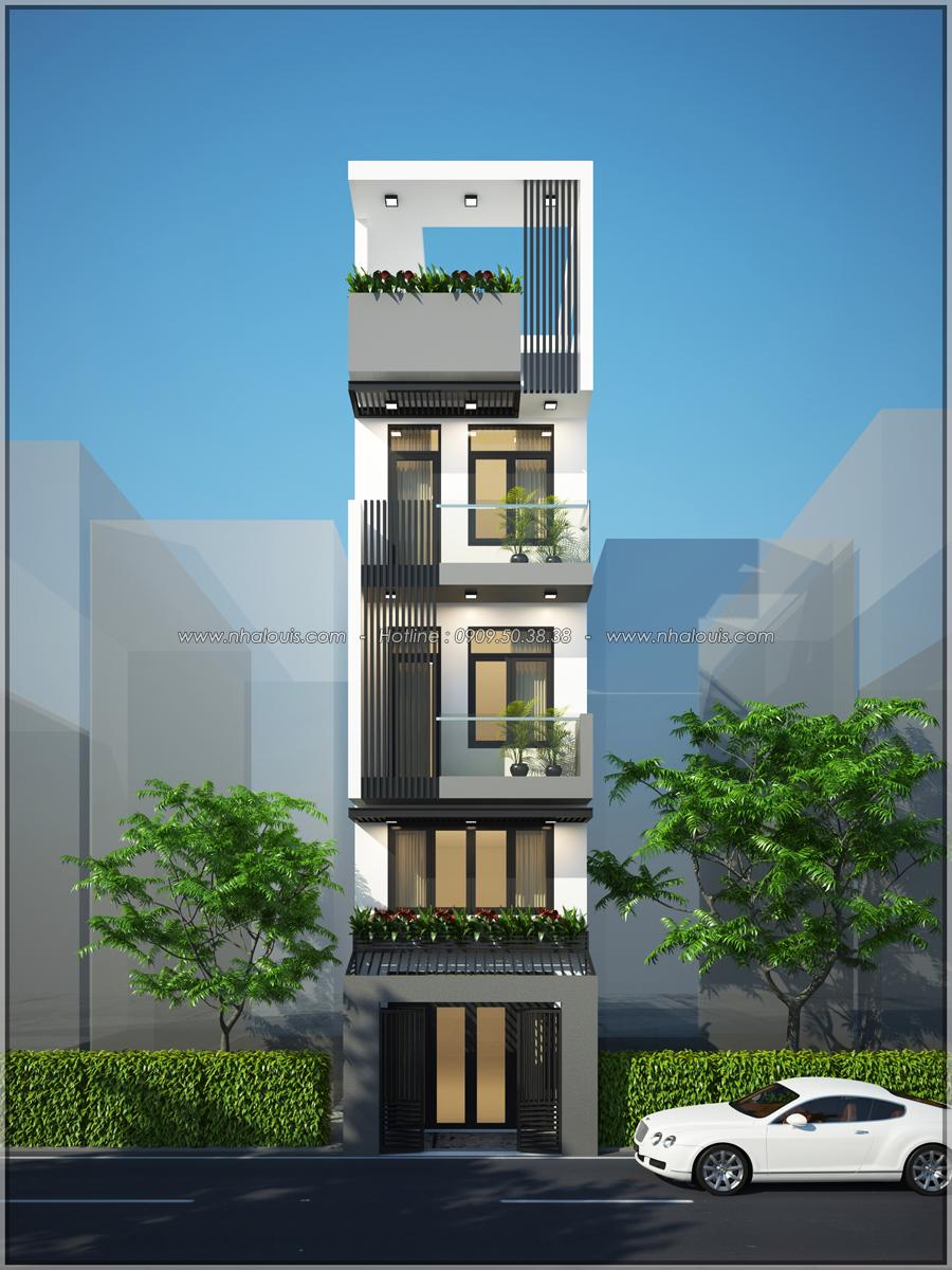 Thiết kế nhà phố đẹp 3 tầng tại quận 10 với nội thất hiện đại sang trọng - 01