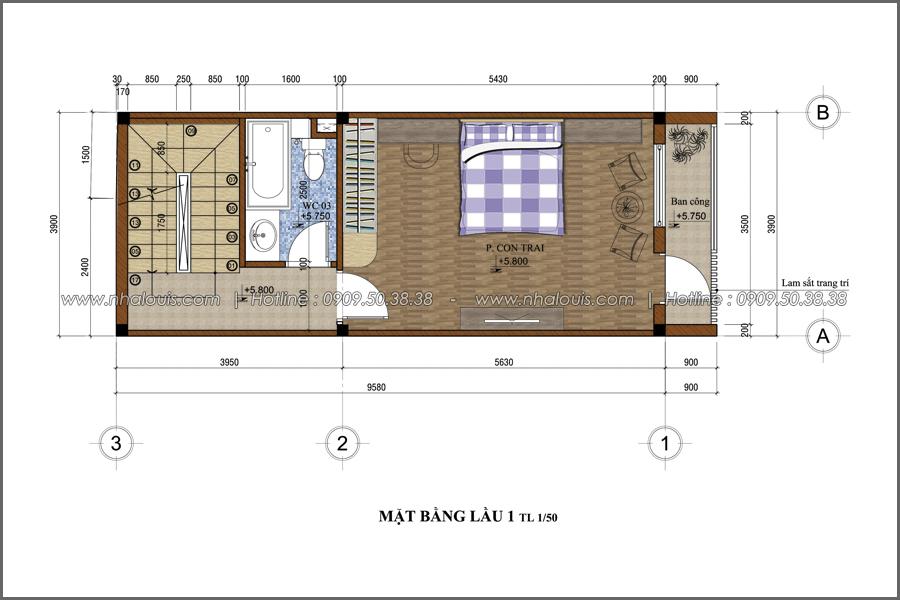 Thiết kế nhà phố đẹp 3 tầng tại quận 10 với nội thất hiện đại sang trọng - 04