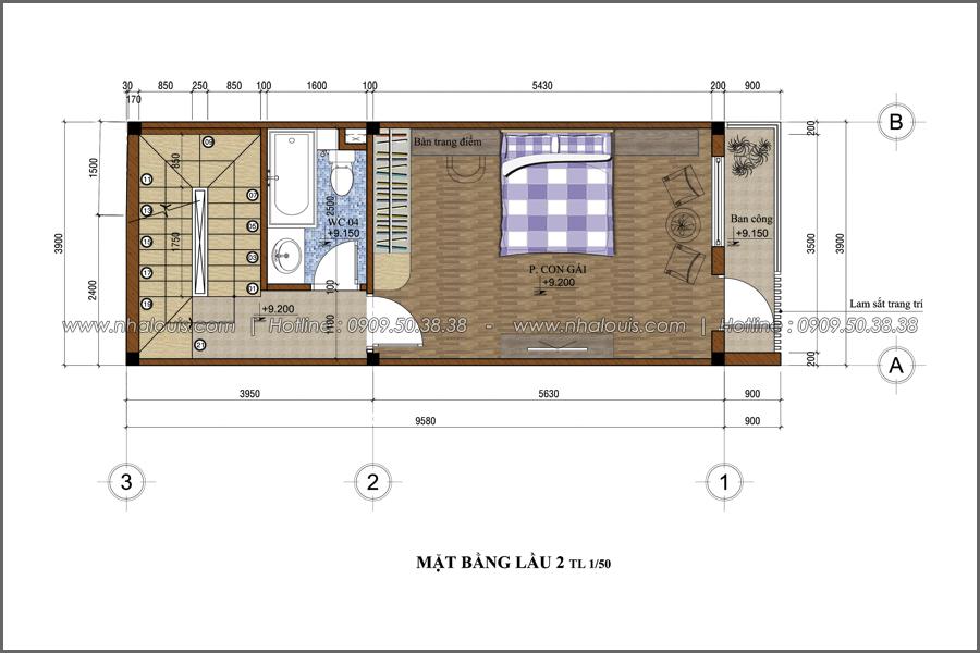 Thiết kế nhà phố đẹp 3 tầng tại quận 10 với nội thất hiện đại sang trọng - 05