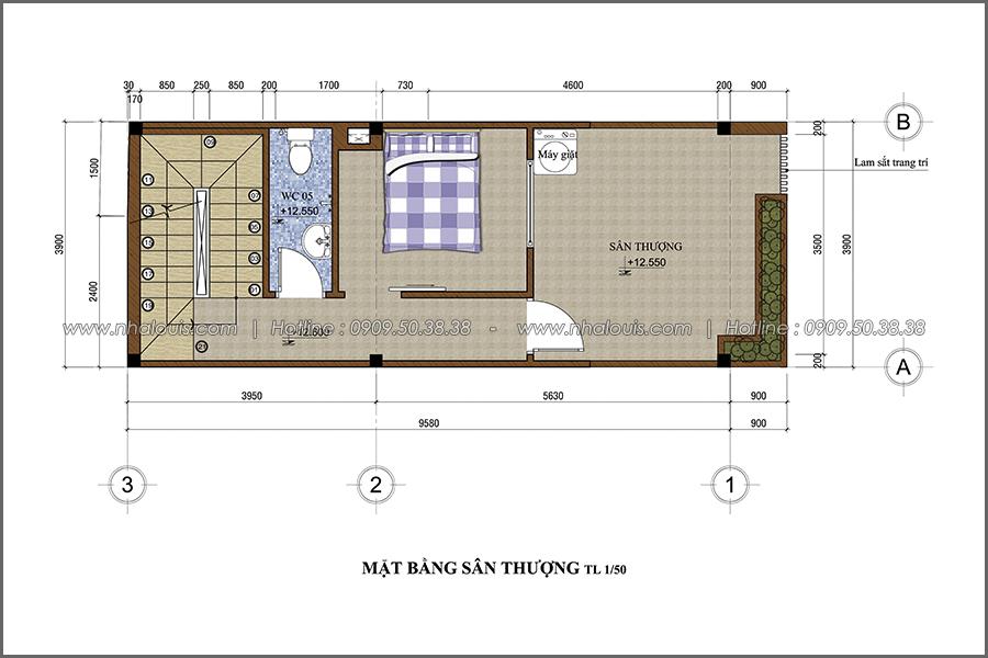 Thiết kế nhà phố đẹp 3 tầng tại quận 10 với nội thất hiện đại sang trọng - 06