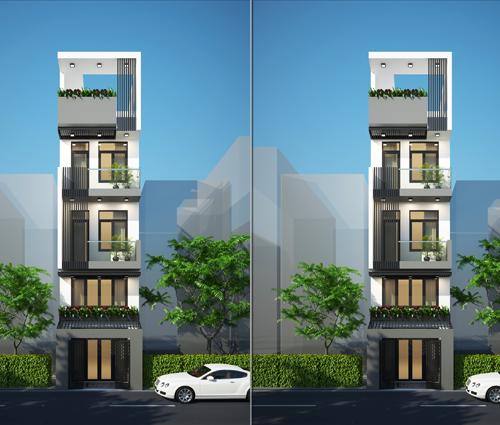 Thiết kế nhà phố đẹp 3 tầng tại quận 10 với nội thất hiện đại sang trọng