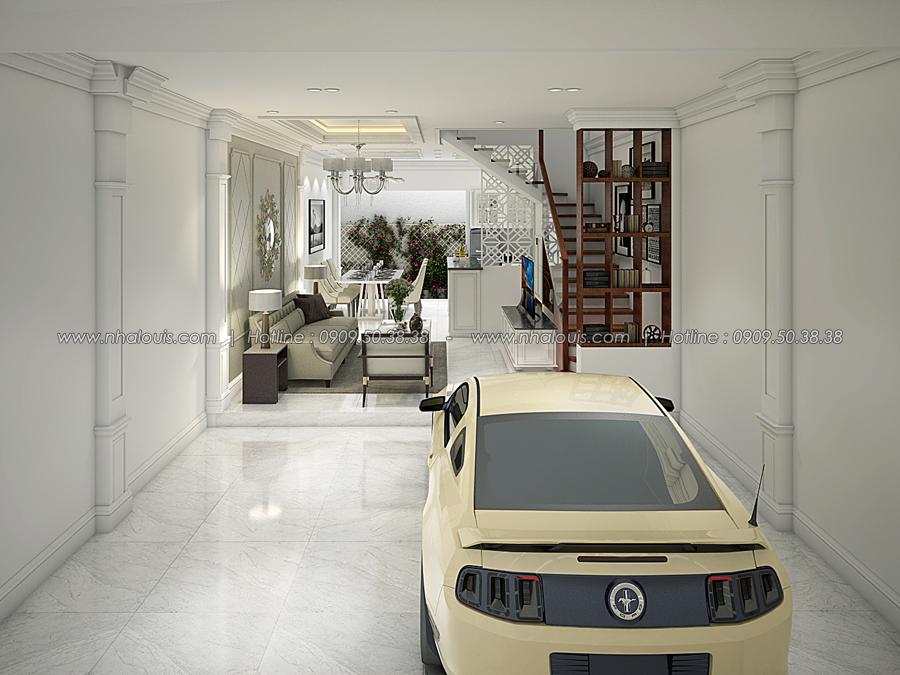 Thiết kế nhà tân cổ điển 2 tầng tại Bình Dương đẹp sửng sốt - 04