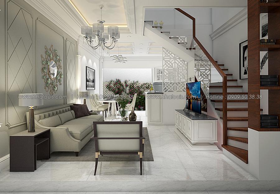 Thiết kế nhà tân cổ điển 2 tầng tại Bình Dương đẹp sửng sốt - 05